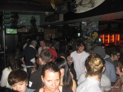 View of the Bar from the Dancefloor - Scubar Sydney
